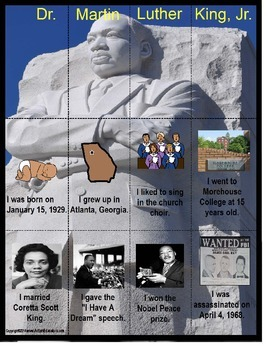 Martin Luther King, Jr. Activity