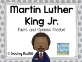 Martin Luther King Jr. Facts and Opinions (Freebie)