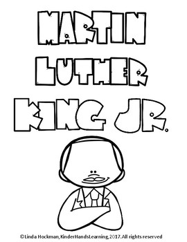 Martin Luther King Jr. Facts and color Activity