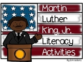 Martin Luther King, Jr. Fill-In Book, Craftivity, & Literacy Activities