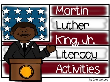 Martin Luther King, Jr. Fill-In Book, Craftivity, & Litera