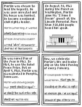 Martin Luther King, Jr. Flip Book