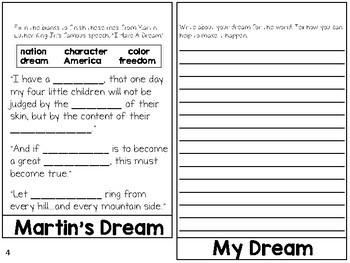 Martin Luther King Jr. Flip Book