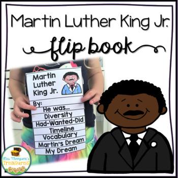 Martin Luther King Jr. Flip Book - MLK Jr. Day