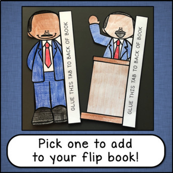 Martin Luther King Jr Flip Book