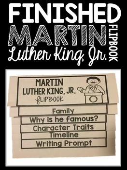 Martin Luther King Jr. Flipbook
