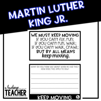 Martin Luther King Jr. Flipbook with QR Codes
