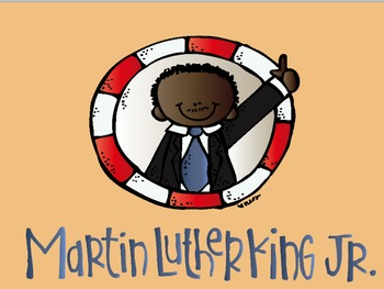 Martin Luther King, Jr: Flipchart and Worksheets
