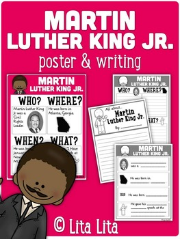 Martin Luther King Jr Fold&Learn