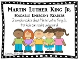 Martin Luther King Jr. Foldable Readers Pack ~2 Versions PLUS Color & B&W~