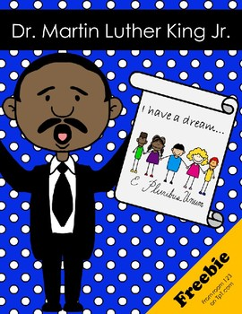 Martin Luther King Jr. Writing Prompts Freebie