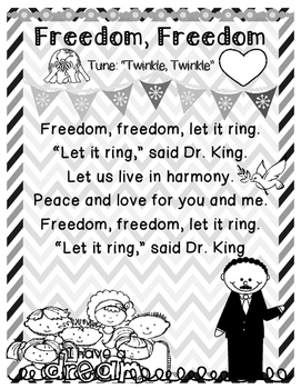 Martin Luther King Jr. ~ Freedom Song
