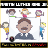 Martin Luther King Jr. Fun Activities in Spanish (Dual Language)