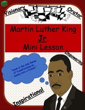 Martin Luther King Jr Fun Fact Cards Recall Activity Tpt
