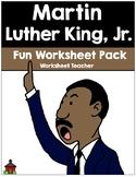 Martin Luther King, Jr. Fun Worksheet Pack (K-2)