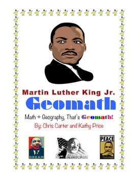 Martin Luther King, Jr GEOMATH,  Geography + Math = Fun!