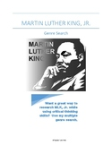 Martin Luther King, Jr. Genre Search