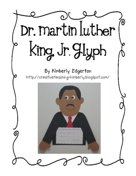Martin Luther King, Jr. Glyph