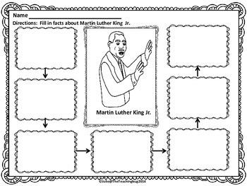 Martin Luther King Jr. Graphic Organizer-Free