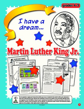 Martin Luther King Jr. (Grs. 4-5)