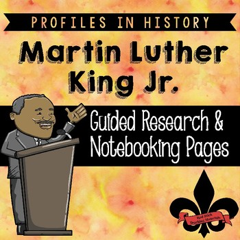 Martin Luther King Jr. Guided Research Activity