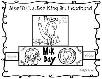 Martin Luther King Jr. Headband