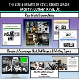 Martin Luther King, Jr. - Research Activity & Bell Ringers (Black History Month)