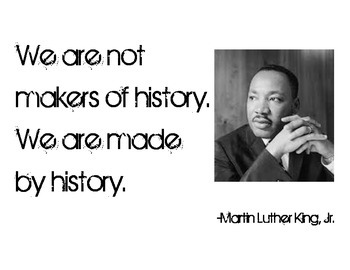 Martin Luther King, Jr. History Quote