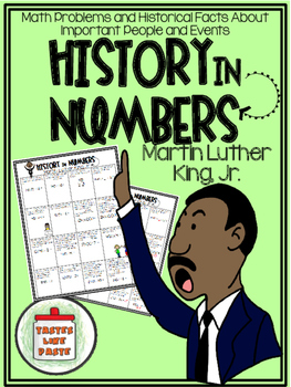 {FREEBIE} Martin Luther King, Jr. -History in Numbers Printable