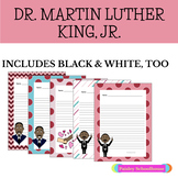 Martin Luther King, Jr. Holiday: Primary Writing Paper with Picture Boxes