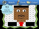 Martin Luther King Jr. Hundreds Chart Fun - Watch, Think, Color Game!