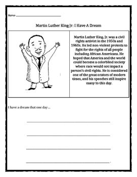 Black History Month: Martin Luther King Jr., I Have A Dream