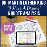 """Martin Luther King Jr. """"I Have A Dream"""" Pixanotes®"""