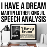 "Martin Luther King Jr ""I Have A Dream"" Speech Analysis Sta"