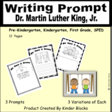 Martin Luther King Jr We Have A Dream Writing Prompts