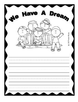 Martin Luther King Jr We Have A Dream Writing Prompts #DecemberDeals