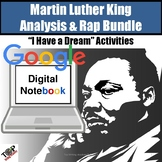 Martin Luther King I Have a Dream Close Read Analysis Google Digital Resource