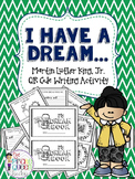 Martin Luther King, Jr. I Have a Dream Book & QR Code Writing Activity