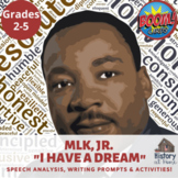 """Martin Luther King, Jr. """"I Have a Dream"""" Boom Cards™ Dista"""