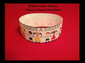 Martin Luther King Jr  I Have a Dream Headband