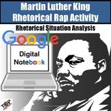 Martin Luther King Jr. I Have a Dream Rhetorical Rap Google Digital Resource