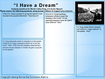 martin luther king i have a dream speech analysis essay american historical speeches analysis pg martin luther king i persuasive essay topics animals samples of descriptive