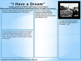 "Martin Luther King, Jr. ""I Have a Dream"" Speech Analysis Questions"