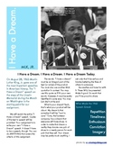 Martin Luther King, Jr. -- I Have a Dream Speech Assignment