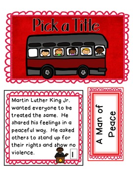 Martin Luther King Jr. I Have a Dream Unit
