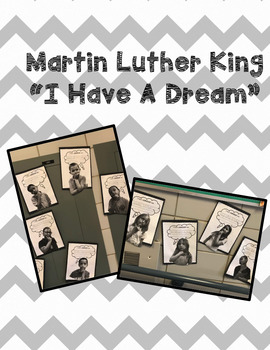 Martin Luther King Jr.  I have a dream printable
