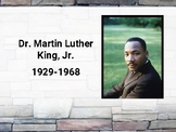 Martin Luther King Jr Info Slides (editable in Google Slides)