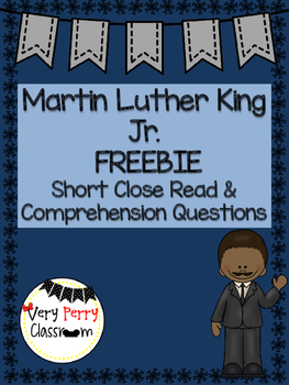Martin Luther King Jr. Informational Page