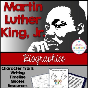 MARTIN LUTHER KING, JR. - Biography (Martin Luther King Day) BLACK HISTORY MONTH
