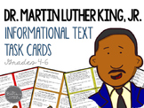 Martin Luther King Day Informational Text Task Cards for Grades 4-6